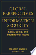 Global Perspectives In Information Security