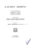 Laudes Domini Book
