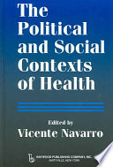 The Political and Social Contexts of Health