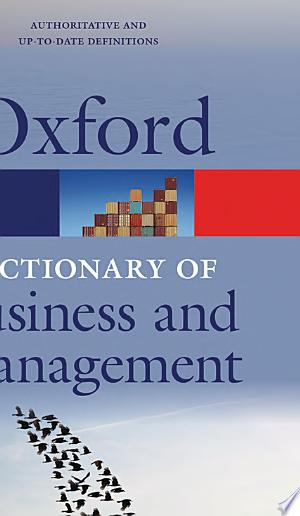 A+Dictionary+of+Business+and+Management