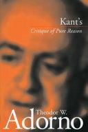 Pdf Kant's Critique of Pure Reason (1959)