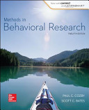 LL METHODS IN BEHAVIORAL RESEARCH WITH CONNECT PLUS ACCESS CARD