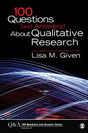 100 Questions (and Answers) About Qualitative Research [Pdf/ePub] eBook
