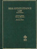 Real Estate Finance Law Book