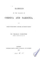 The island of Sardinia  the preface to the second edition of Rambles in the islands of Corsica and Sardinia