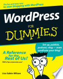 List of Dummies WordPress E-book