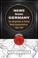 News from Germany Book