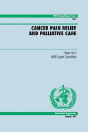 Cancer Pain Relief and Palliative Care