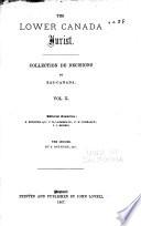 The Lower Canada jurist