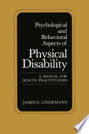 Psychological and Behavioral Aspects of Physical Disability