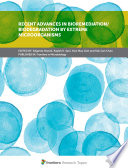 Recent Advances in Bioremediation/Biodegradation by Extreme Microorganisms