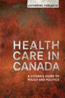 Health Care in Canada [Pdf/ePub] eBook