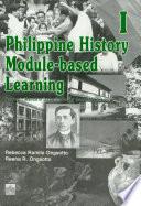 Philippine History Module-based Learning i Tm' 2003 Ed.