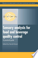 Sensory Analysis for Food and Beverage Quality Control Book