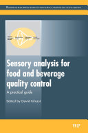 Sensory Analysis for Food and Beverage Quality Control Pdf/ePub eBook