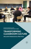 Pdf Transforming Classroom Culture Telecharger