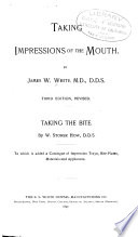 Taking Impressions of the Mouth