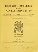 Research Bulletin Book