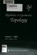 Algebraic and Geometric Topology