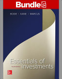 Loose Leaf Essentials of Investments with Connect Book