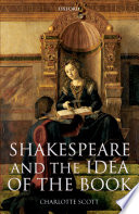 Shakespeare and the Idea of the Book