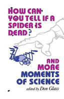 Pdf How Can You Tell If a Spider is Dead?