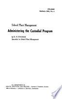 School Plant Management Book