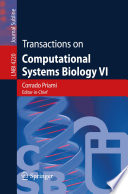 Transactions on Computational Systems Biology VI