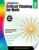 Spectrum Critical Thinking For Math Grade 2