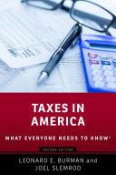 Taxes in America Pdf/ePub eBook