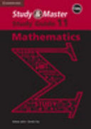Books - Study & Master Mathematics Grade 11 Study Guide Caps | ISBN 9781107470835