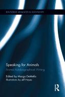 Speaking for Animals
