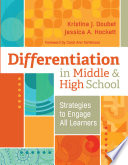 Differentiation in Middle and High School