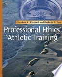 Professional Ethics in Athletic Training Book
