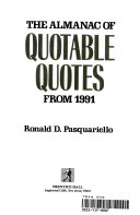 The Almanac of Quotable Quotes from 1991
