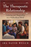 The Therapeutic Relationship Pdf/ePub eBook