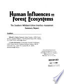 Human Influences on Forest Ecosystems