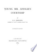 Young Mr. Ainslie's courtship