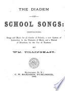 The Diadem of School Songs