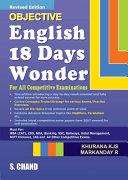 Objective English 18 Days Wonder