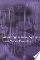 Cover of Comparing Financial Systems