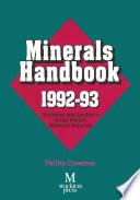 Minerals Handbook 1992   93
