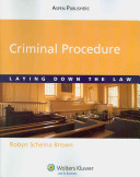 link to Criminal procedure : laying down the law in the TCC library catalog