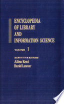 Encyclopedia of Library and Information Science: Volume 1 - Abbreviations