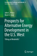 Prospects for Alternative Energy Development in the U S  West