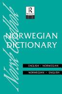 Norwegian Dictionary Pdf/ePub eBook