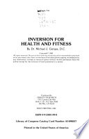 Inversion for Health and Fitness