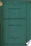 Hand-book of the Kansas State Agricultural College, Manhattan, Kansas