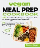 Vegan Meal Prep Cookbook