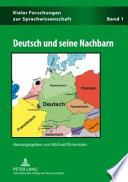 Deutsch und seine Nachbarn